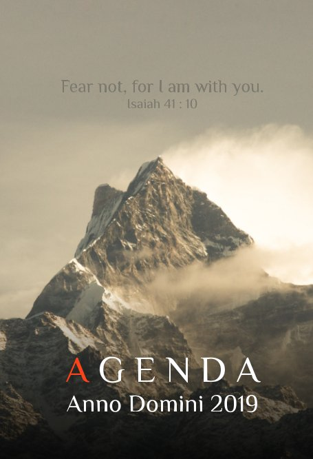 View Agenda AD 2019 (large hardcover) by Ryan L. Mascarenhas