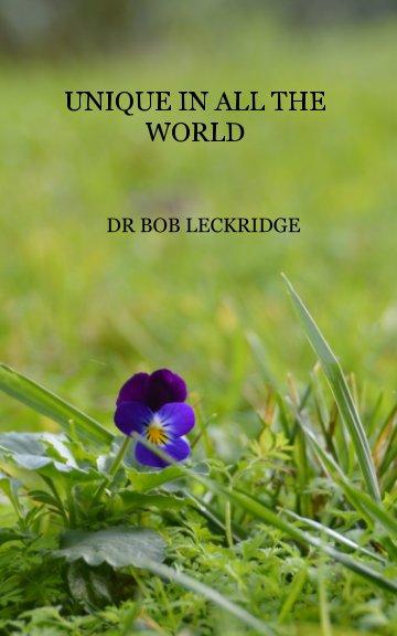 View Unique in all the World by Bob Leckridge