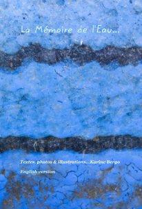 La Mémoire de l'Eau  English version book cover