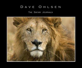 "The   Safari   Journals (8""x10"" version) book cover"