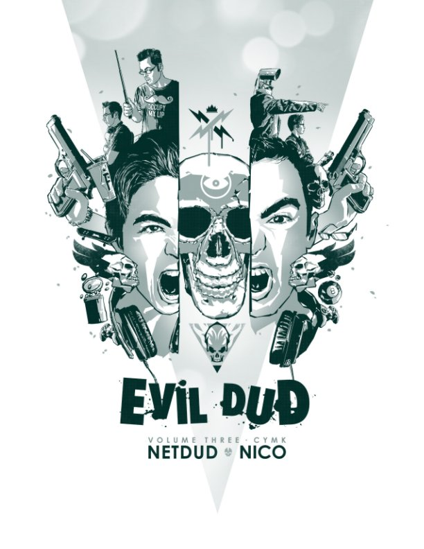 View EvilDud Volume 3: CYMK by Nicolas Lajeunesse, Bill Arab