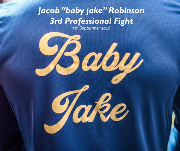 """View Jacob """"Baby Jake"""" Robinson - 3rd Pro Fight by Sash Shots"""