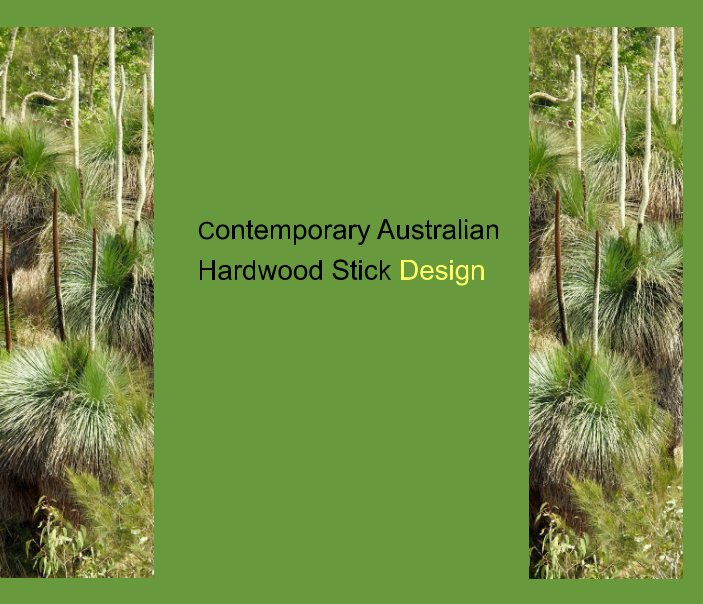 View The Rustic Furniture Maker Two Contemporary hand-whittled hardwood stick design by Sportsman Creek Press 2019