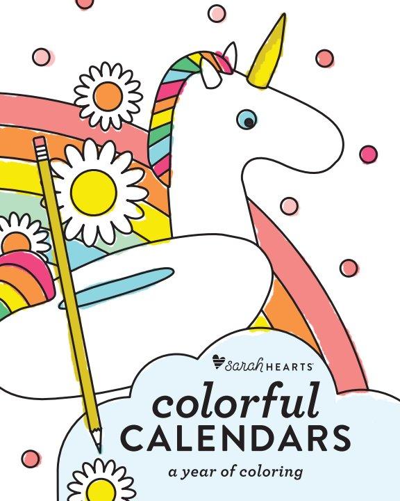 Visualizza Colorful Calendars di Sarah Hearts