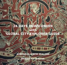 24 DAYS DOWN UNDER with GLOBAL CITY EXPLORER GUIDE book cover