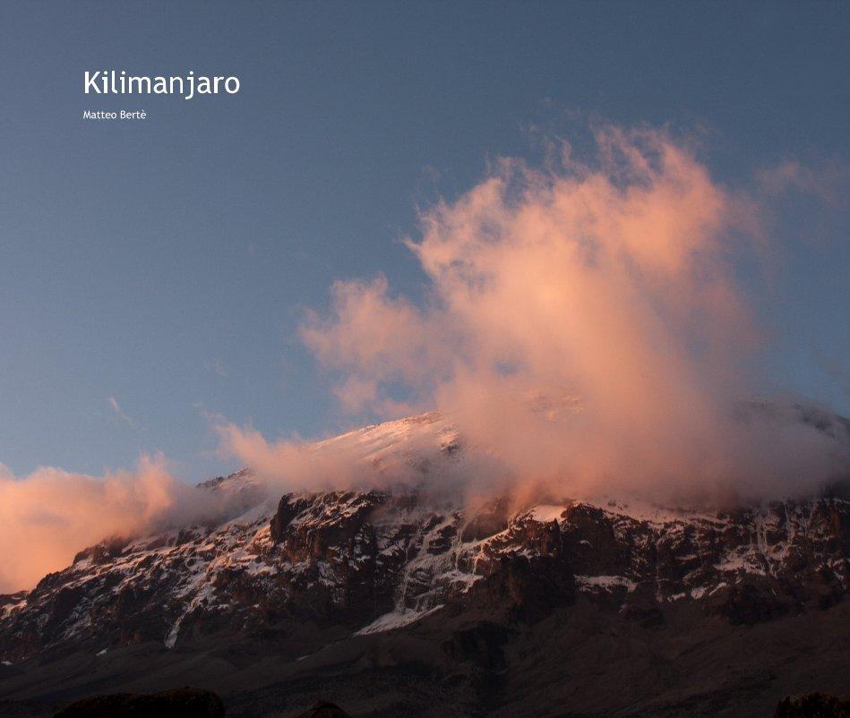 View Kilimanjaro by Matteo Bertè