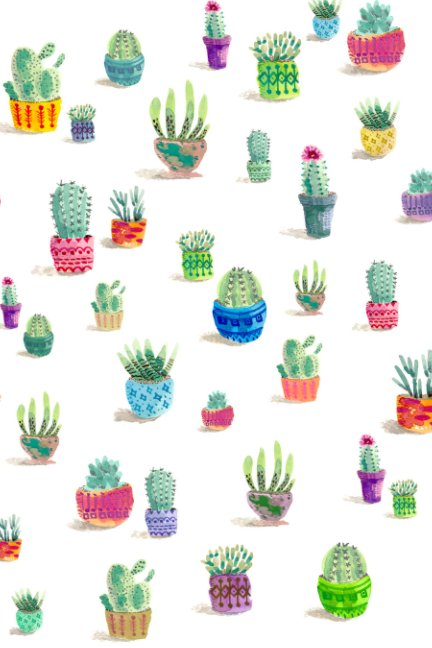 View Watercolor Cactus Sketchbook by Cynthia Jacquette