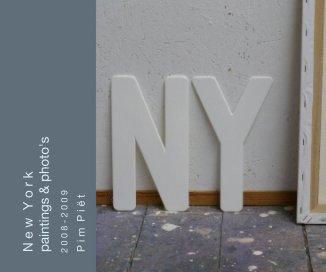 N e w Y o r k. paintings and photo's book cover