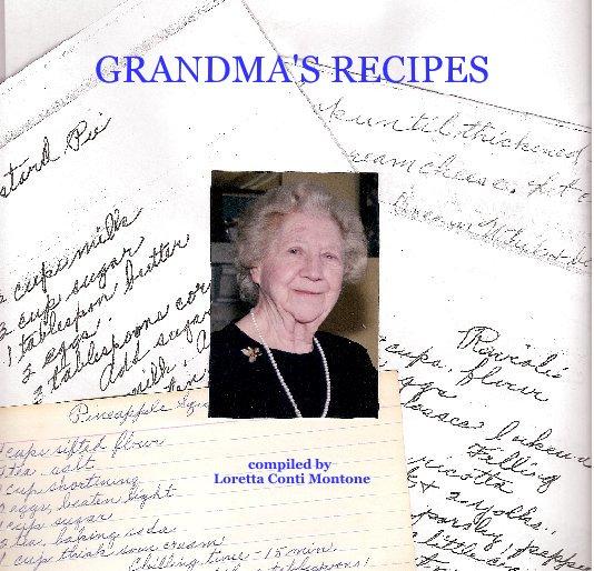 Ver GRANDMA'S RECIPES por Loretta Conti Montone