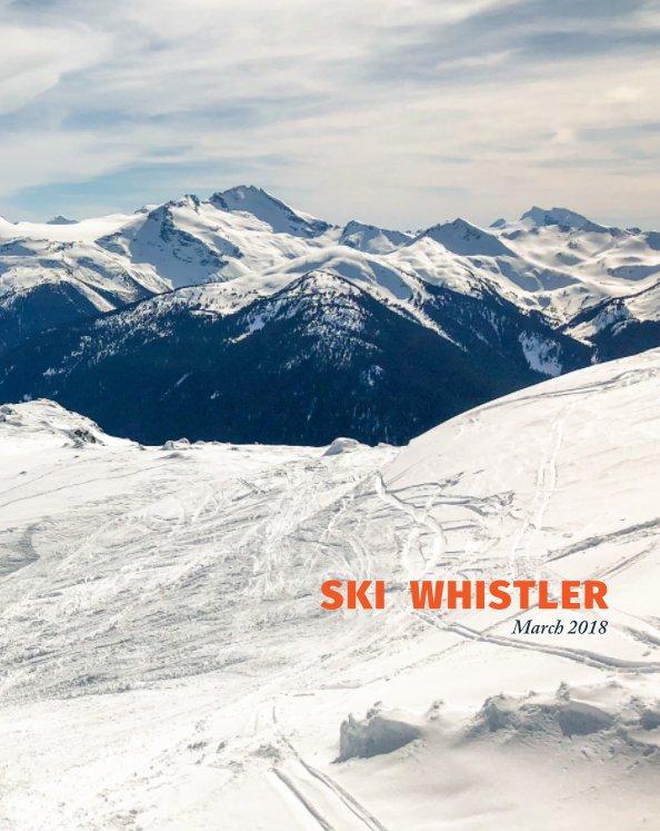 View Ski Whistler by Joanne Clerk