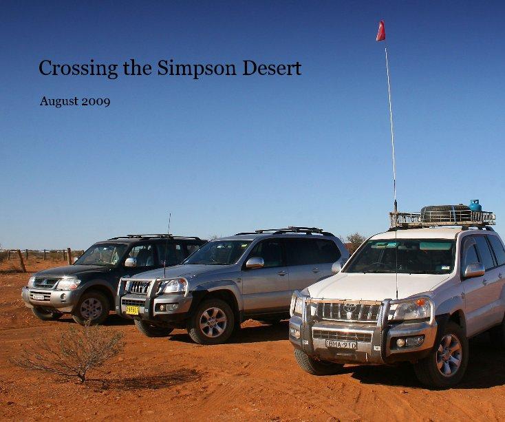 View Crossing the Simpson Desert by Marj_K