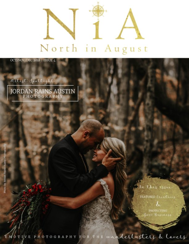 View North in August Magazine - Issue 4 by Amandamarie Gillen