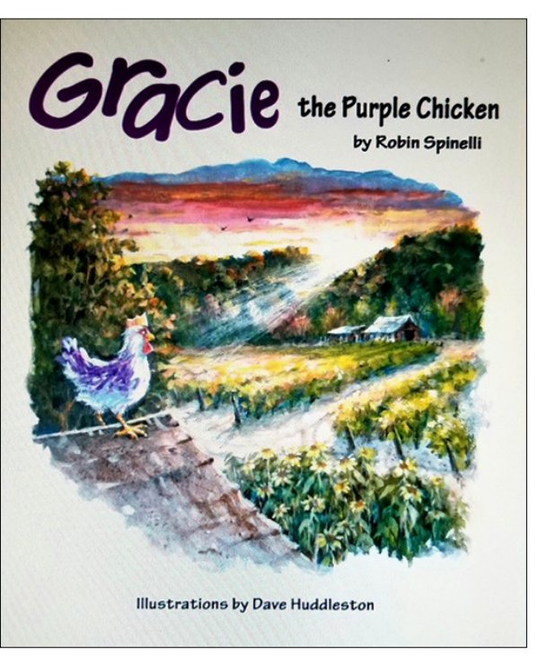 View Gracie the Purple Chicken by Robin Spinelli