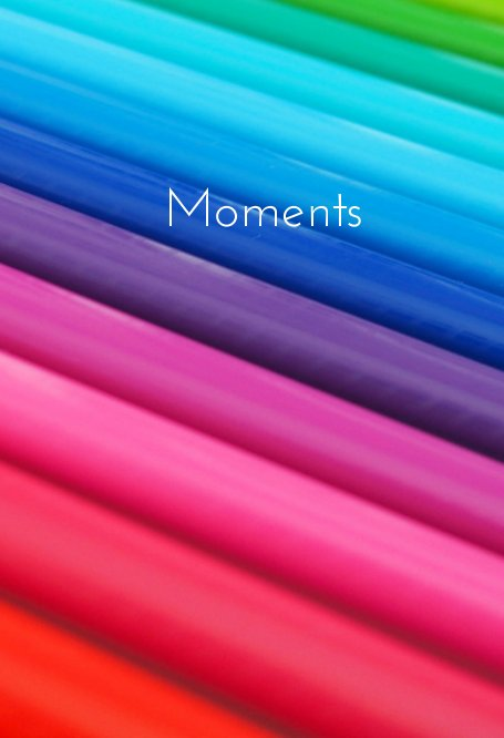 View Moments - 365 Day Journal - Special Edition Rainbow Cover by Jennifer Cockcroft