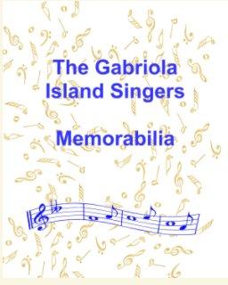 gabriola island singers memorabilia book cover