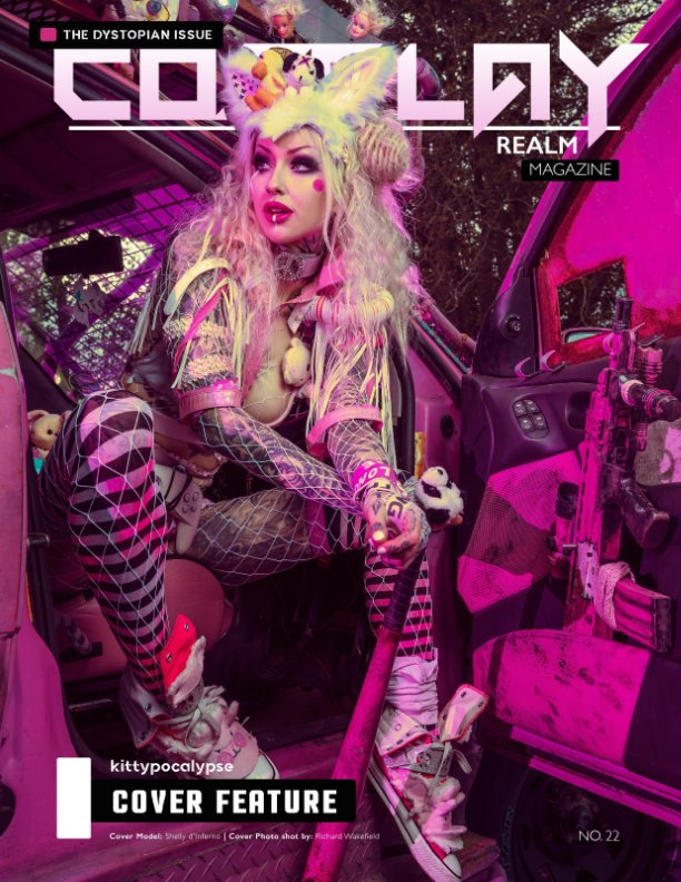 View Cosplay Realm Magazine No. 22 by Emily Rey, Aesthel