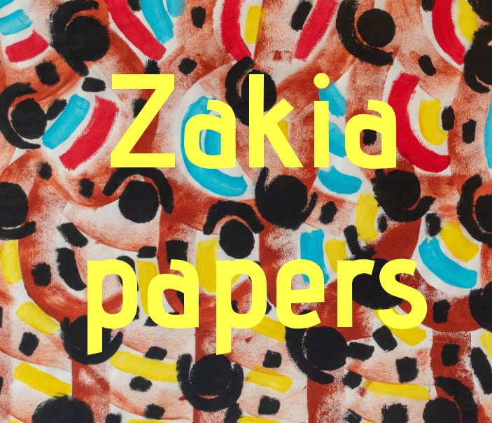 View ZAKIA papers by Sophie Ferhani
