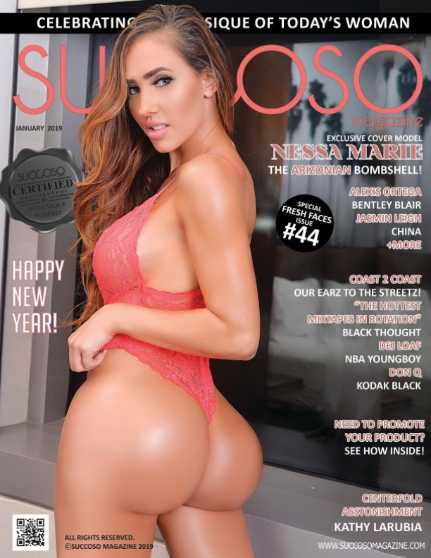 View Succoso Magazine Issue #44 featuring Cover Models Nessa Marie / Kathy LaRubia by SUCCOSO MAGAZINE