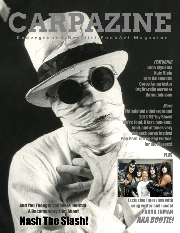 View Carpazine Art Magazine Issue Number 18 by Carpazine
