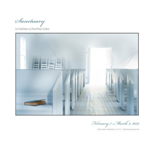 View Sanctuary, Hardcover Imagewrap by PhotoPlace Gallery