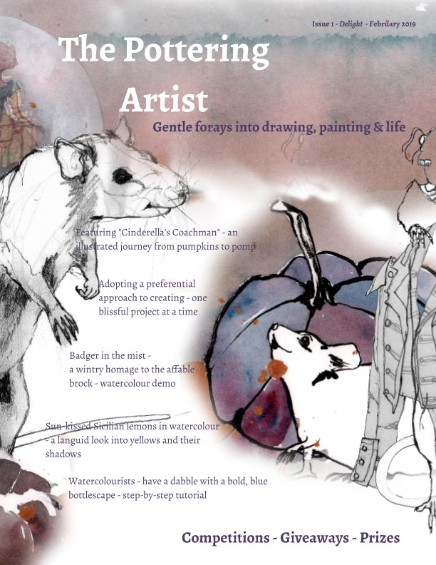 Bekijk The Pottering Artist op Alison Fennell