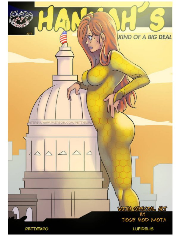 View Hannah's Kind of a Big Deal Issue #5 by Pettyexpo Lufidelis Jose Mota
