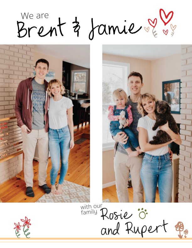 View Jamie and Brent Profile Book by Jamie and loved ones