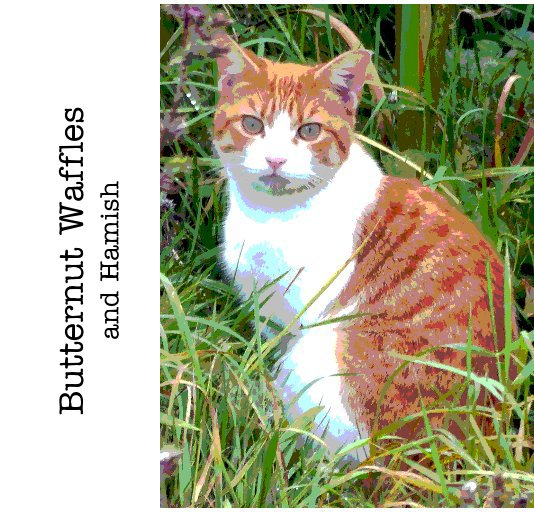 View Butternut Waffles and Hamish by Brian Hellyer