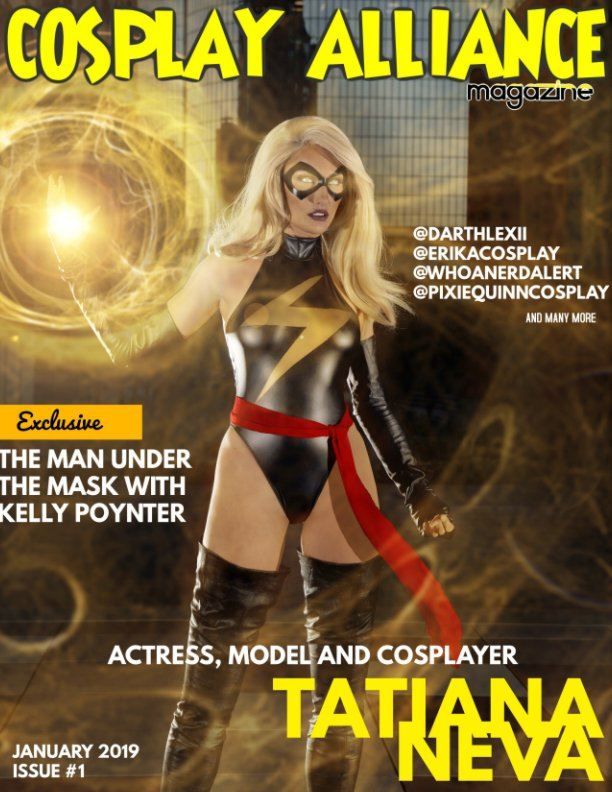 View Cosplay Alliance Magazine Issue #1 January 2019 by Individual cosplayers