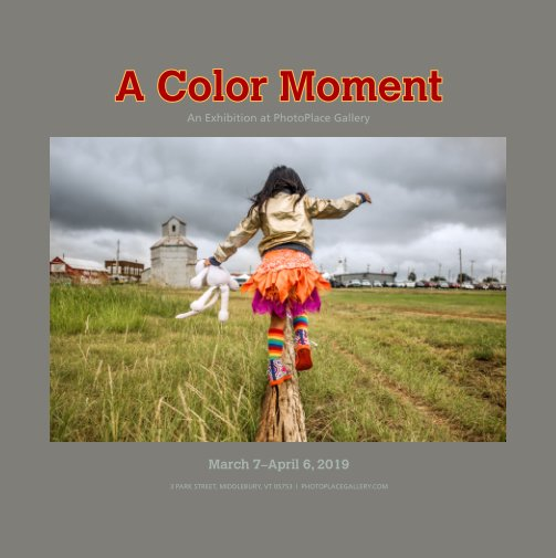 View A Color Moment, Hardcover Imagewrap by PhotoPlace Gallery