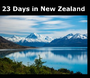 23 days in New Zealand book cover