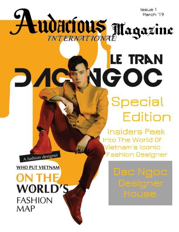 View Audacious International Issue 1 by Liz Hallford