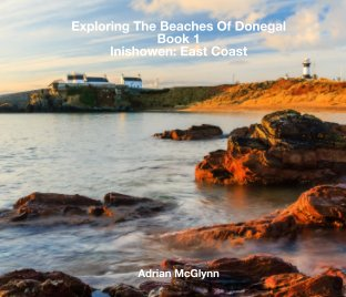 Exploring The Beaches of Donegal Book 1 Inishowen: East Coast book cover