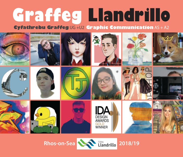 View AS + A Level Graphic Communication 2018/19 by Coleg Llandrillo