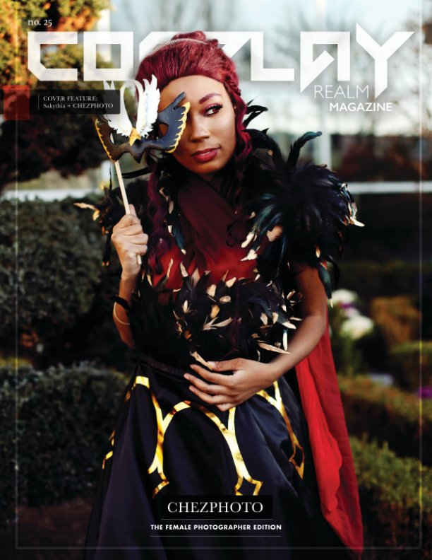 View Cosplay Realm Magazine No. 25 by Emily Rey, Aesthel