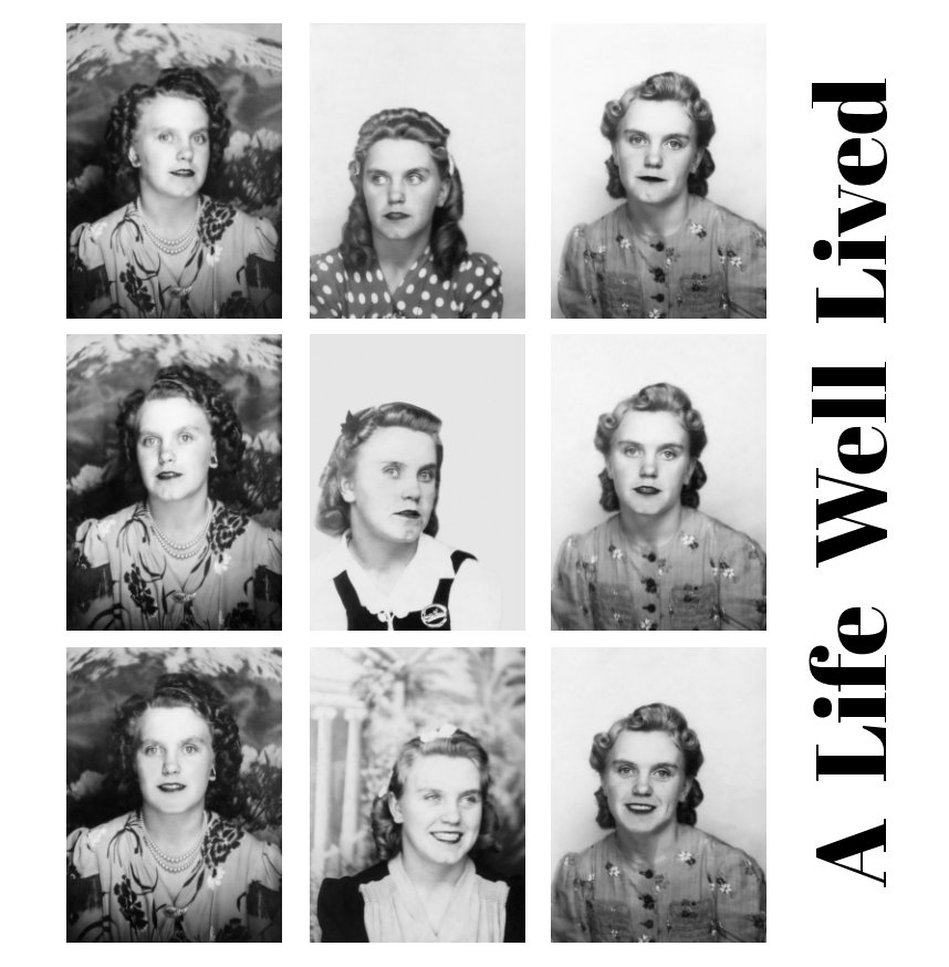 View A Life Well Lived (12x12 hardback) by Jeremy Adams