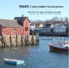 Than's Crazy Family Cookbook book cover