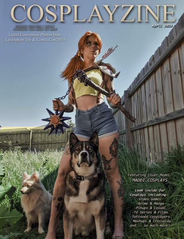 View Cosplay Zine April Issue - 2019 by cosplay zine