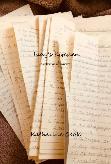 Judy's Kitchen by Katherine Cook | Blurb Books Canada