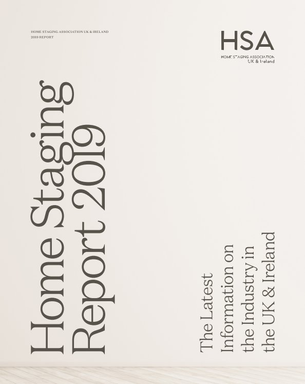 View Home Staging Report 2019 by Home Staging Association