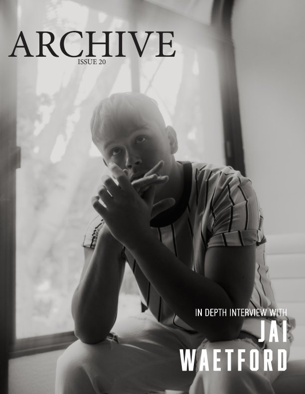 """View ARCHIVE ISSUE 20 """"Pastels"""" Jai Waetford Cover by TGS Collective"""