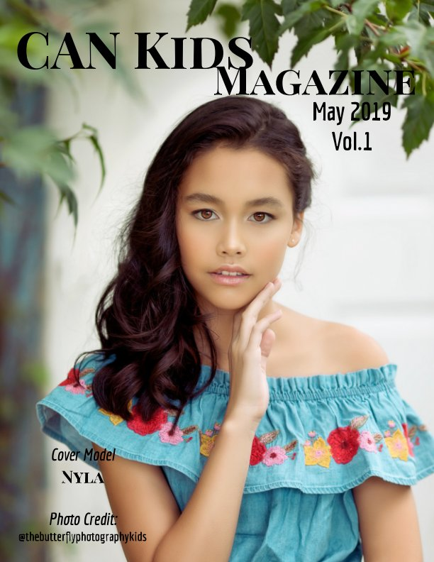 View May 2019  Vol.1 by CanKids Magazine