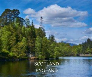 Memories of Scotland and England 2018 book cover