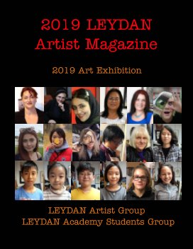 2019 Leydan art Magazine book cover