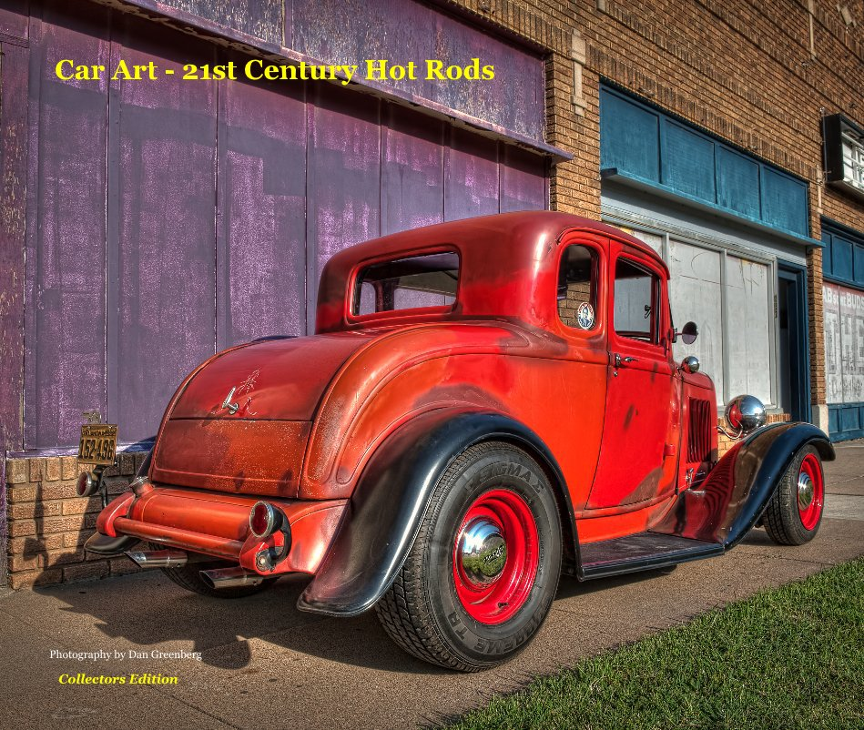 View Car Art - 21st Century Hot Rods by Dan Greenberg