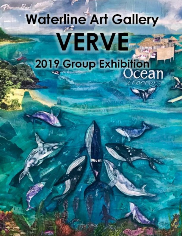 View Waterline Art Gallery: Verve Exhibition 2019 by Eileen Kuzmic