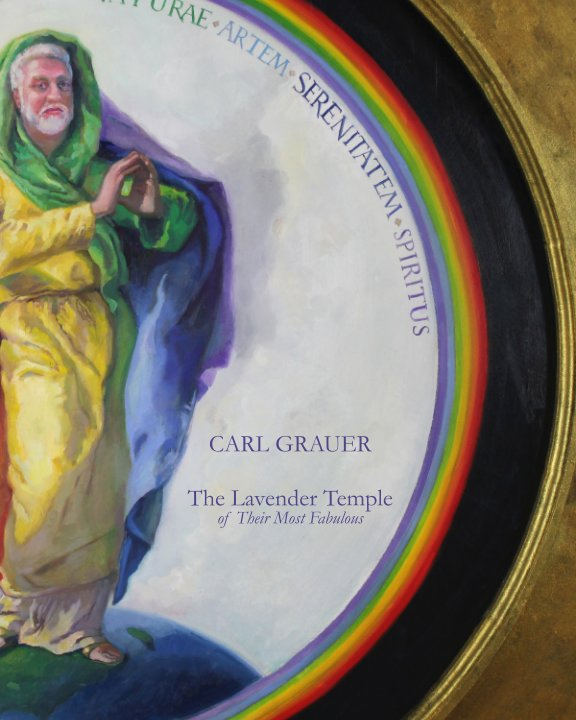View Lavender Temple of Their Most Fabulous by Carl Grauer
