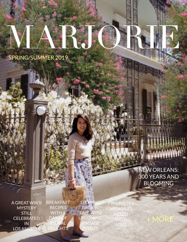 View Marjorie Magazine: Spring and Summer 2019 by Marjorie Magazine