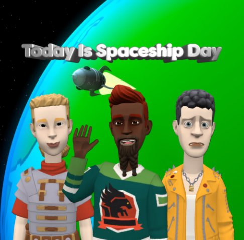 Ver Today Is Spaceship Day por Gregory Austin McConnell
