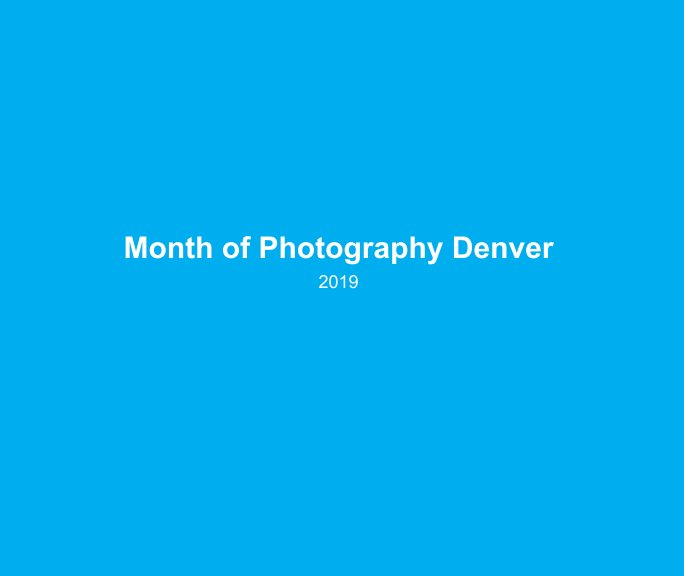 View Month of Photography 2019 by Mark Sink